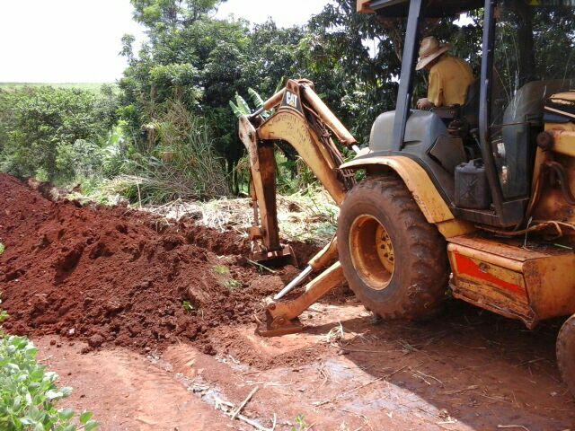 Inicio das Obras Vila Nova São João do Pinhal e Assentamento D. Helder Camara